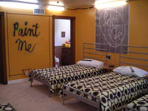 Redemption Song contemporary bedroom