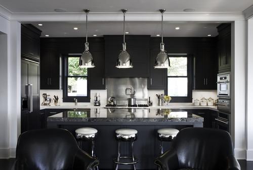 Rocky Ledge Kitchen contemporary kitchen