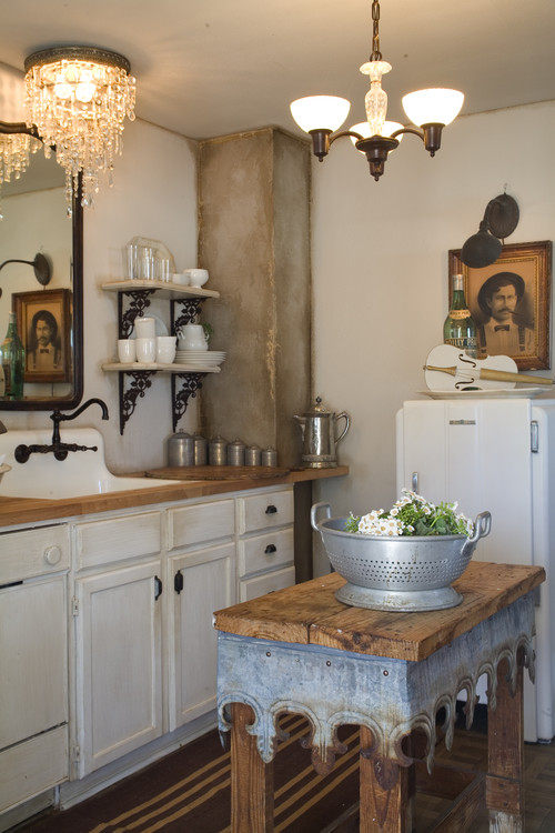 curioussofa eclectic kitchen