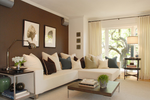 Hollywood Hills Retreat modern family room