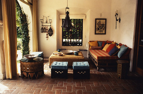 Private Residence in Los Angeles, 10,000sq.ft mediterranean patio