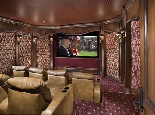 Theatre traditional media room