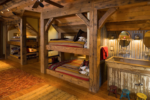 Bunk Room traditional bedroom