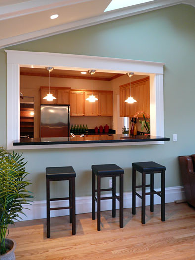 Klopf Architecture - Kitchen from Sun Room traditional kitchen
