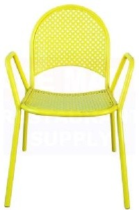 Yellow neon chair