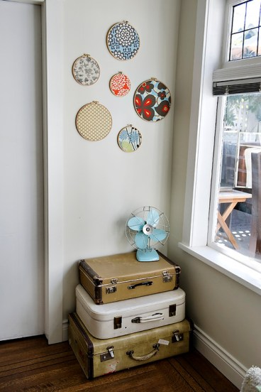 diy decor embroidery hoop wall art