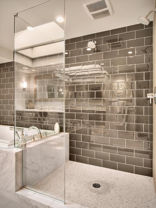 Modern Master bathroom contemporary bathroom