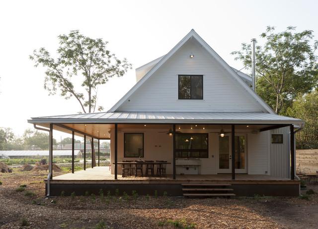 modern porch by Rauser Design