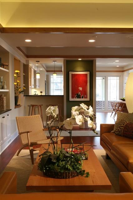Sarah Susanka FAIA traditional living room