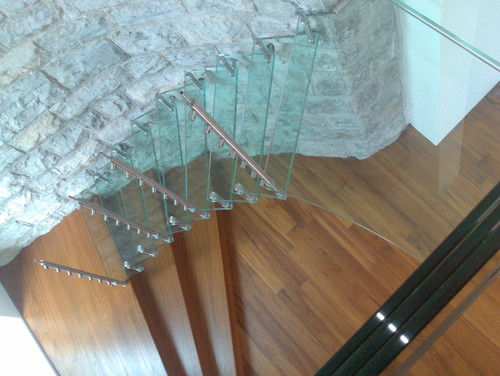 Sevilla Light Glass Stair Design modern staircase