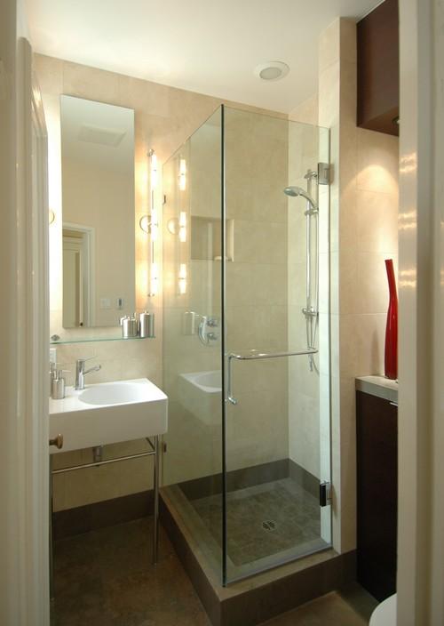 Striking a Balance-Bathroom modern bathroom