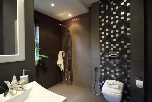 Misty Haven Villa contemporary bathroom