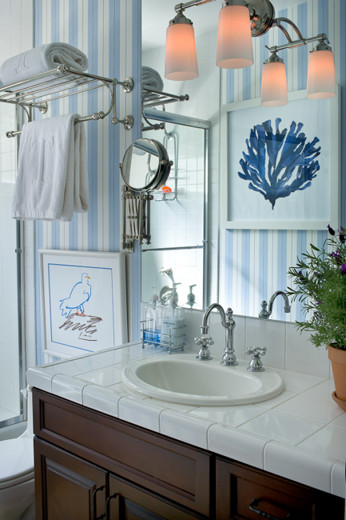Malibu Mediterranean mediterranean bathroom