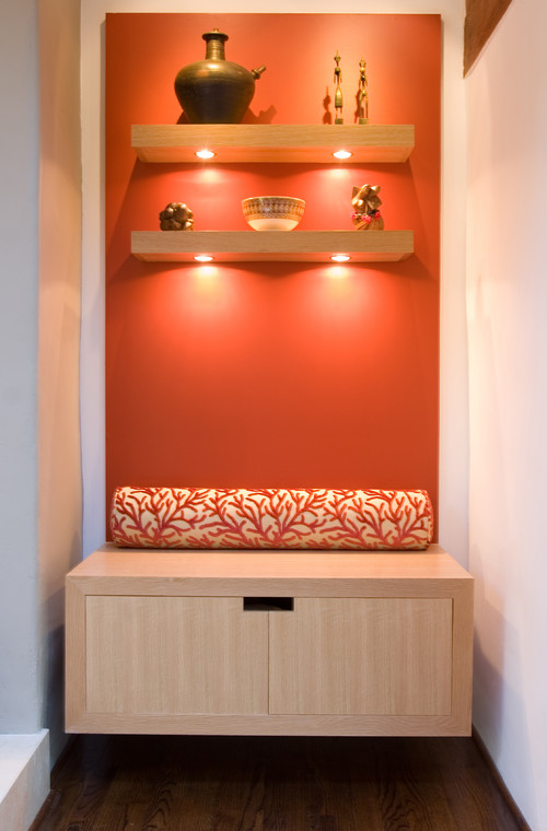 Woodside Residence contemporary living room
