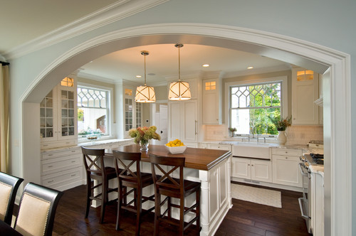 2009 Showcase Home on Park Alley traditional kitchen