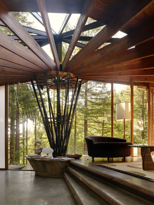 vivian dwyer contemporary living room