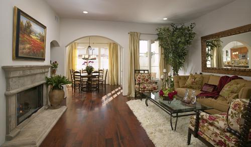 Las Palmas Viejas Living Room mediterranean living room