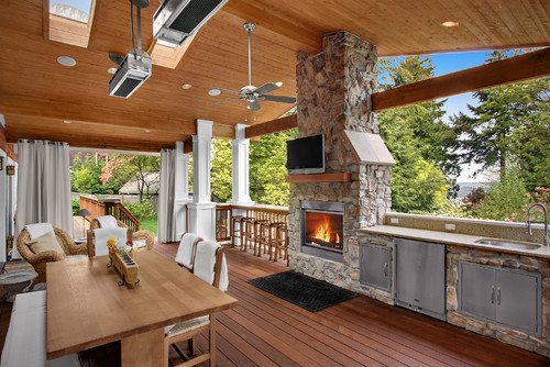 Wittman Deck traditional porch