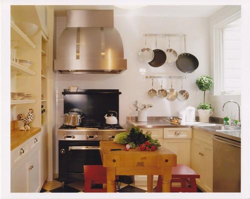 Chefs Kitchen eclectic kitchen