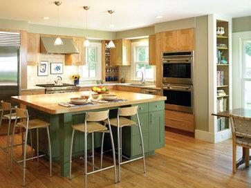 Historic Farm House Kitchen contemporary kitchen