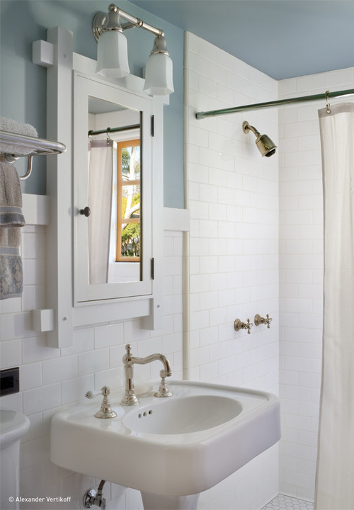 traditional bathroom by HartmanBaldwin Design/Build