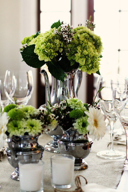 Wedding Shower Table Decor