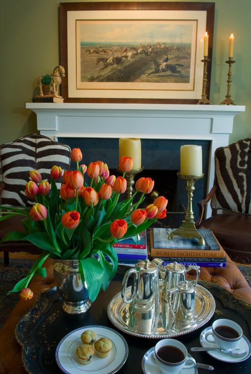 Kathleen Burke Design traditional living room