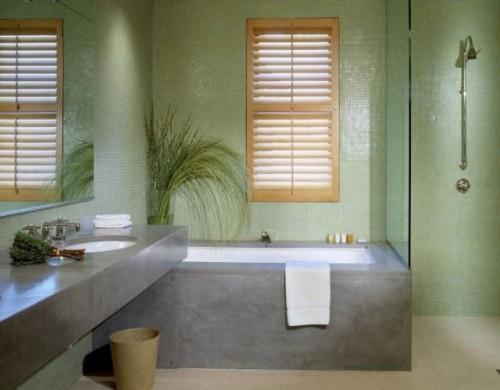 Hotel Healdsburg: Slideshow Guest room full bath. modern bathroom