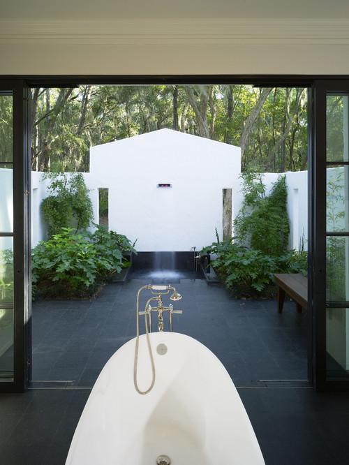 St. Simons Island, GA contemporary bathroom