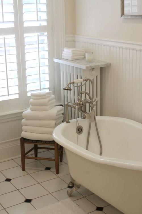 traditional bathroom by Lola B's