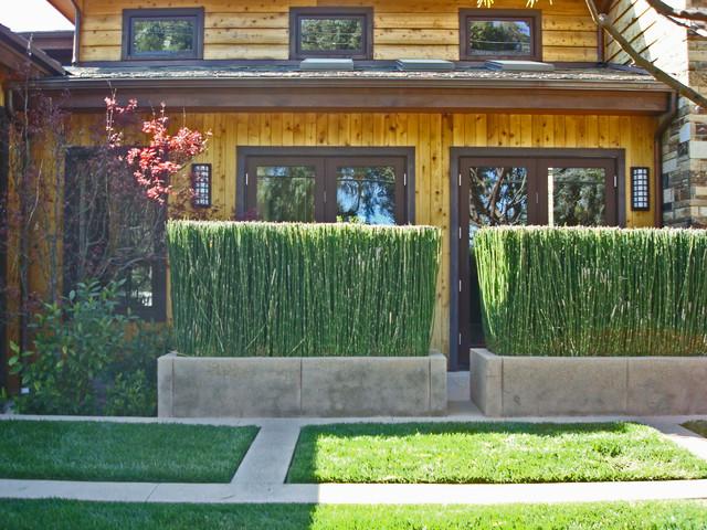 modern exterior by Stephanie Ann Davis Landscape Design