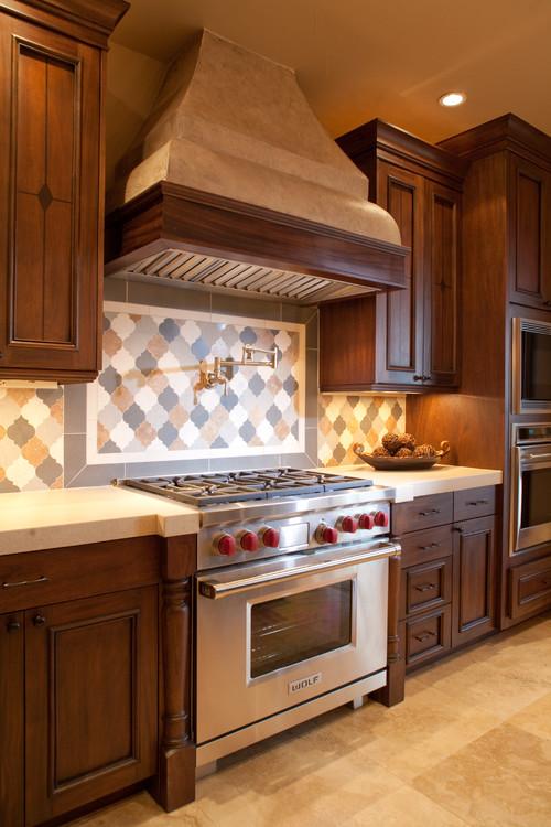 Range contemporary kitchen