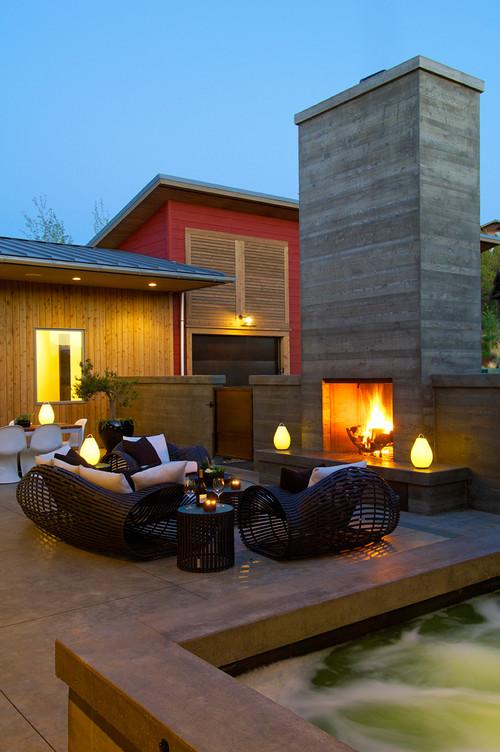 Residences modern patio