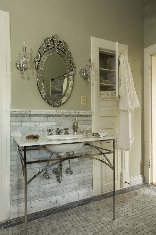 Sylvia Martin traditional bathroom