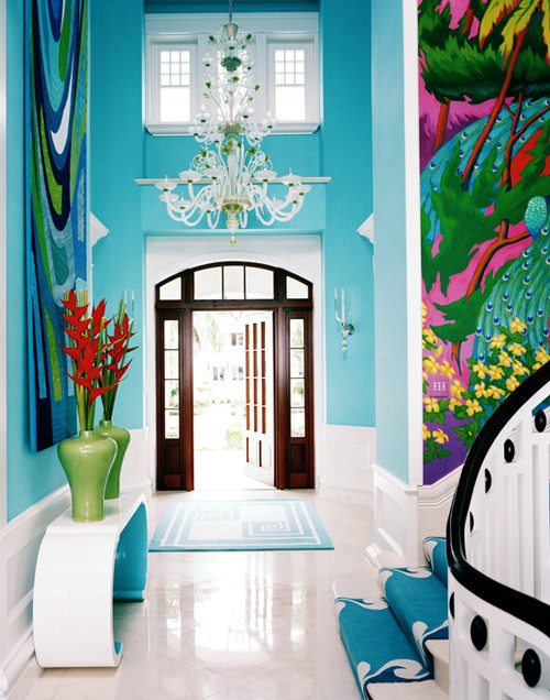 Diamond and Baratta design eclectic entry