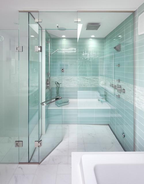 Bridle Path Ensuite Bathroom contemporary bathroom