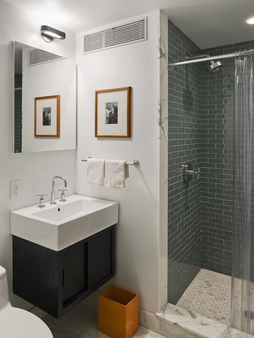 Bergen Street Residence contemporary bathroom