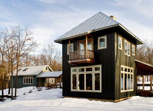Hudson Valley Retreat contemporary exterior