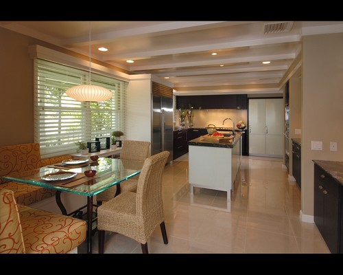 Artistery in East Meets West modern kitchen