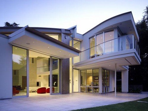 modern exterior by Field Architecture