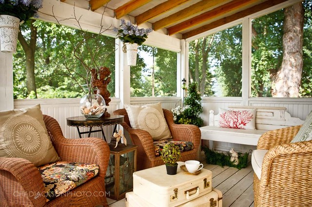 interior designs traditional porch