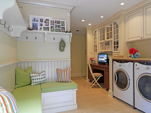 Case Design/Remodeling, Inc. eclectic laundry room