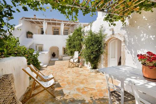 Patio, Summer House, Island of Kythira, Greece mediterranean patio