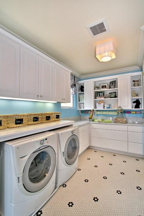No 2 contemporary laundry room