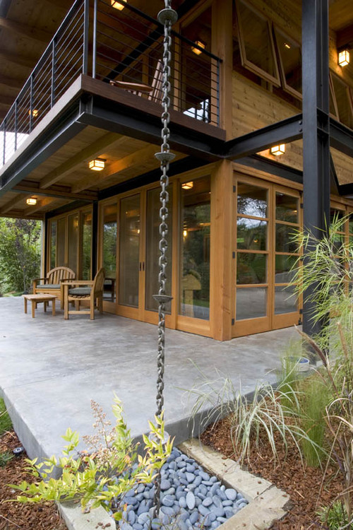 Eco Retreat contemporary exterior