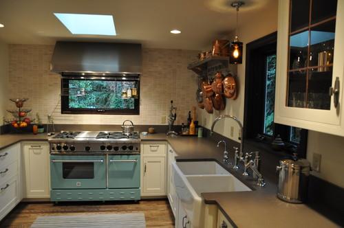 Alki Cottage eclectic kitchen