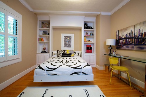 Catalano Residence eclectic bedroom