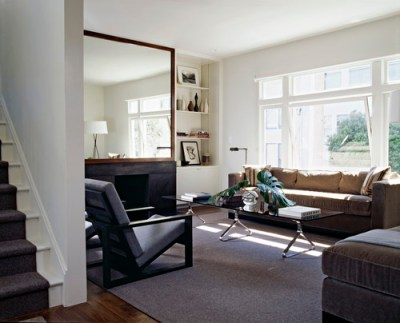 Cary Bernstein Architect Choy 2 Residence modern living room