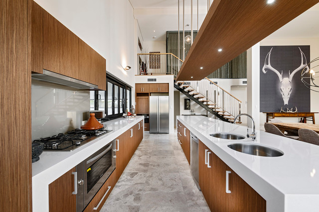 contemporary kitchen by RURAL BUILDING