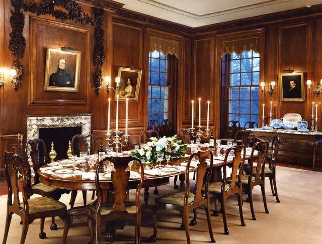 Ardrossan traditional dining room